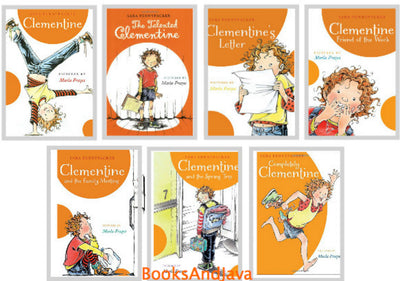 Clementine Complete Set : Clementine, The Talented Clementine, Clementine's Letter, Clementine, Friend of the Week, Clementine and the Family Meeting, Clementine and the Spring Trip, Completely Clementine by Sara Pennypacker