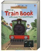 Usborne Wind-Up Books : Wind-Up Train Book by Heather Amery (Board Book)