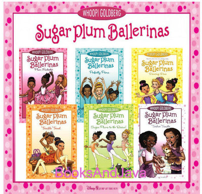 Sugar Plum Ballerinas Complete Set  : Plum Fantastic, Toeshoe Trouble, Perfectly Prima, Terrible Terra, Sugar Plums to the Rescue, Dancing Diva by Whoopi Goldberg