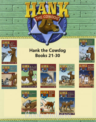 Hank the Cowdog  : Books 21-30 The Case of the Vampire Cat ... by John R. Erickson (10 Paperback Book Set)
