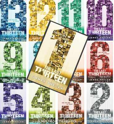The Last Thirteen : Books 13-1 by James Phelan & Kane Miller (13 Hardcover Book Set)