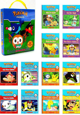 Pokemon Phonics Readers Box Set by Scholastic