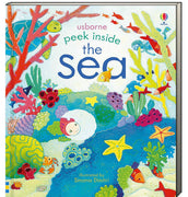 Usborne Peek Inside the Sea by Anna Milbourne (Board Book)