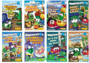 Zonderkids : I Can Read : VeggieTales : LarryBoy Meets the Bubblegun Bandit, Who Wants to Be A Pirate? Pirate in Training, Listen Up Larry, The Mess Detectives and the Case of the Lost Temper...  by Karen Poth