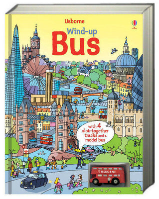 Usborne Wind-Up Books : Wind-Up Books : Wind-Up Bus by Heather Amery