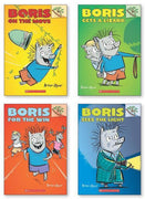 Scholastic Branches : Boris Gets a Lizard, Boris on the Move, Boris For the Win and Boris Sees the Light by Andrew Joyner