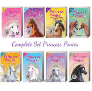 Princess Ponies Complete Set : Books 1-8 : A Magical Friend, A Dream Come True...... by Chloe Ryder