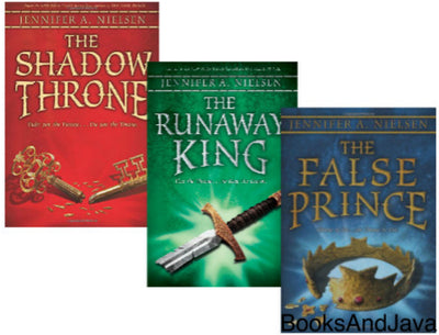 The Ascendance Trilogy : The False Prince, Runaway King and The Shadow Throne by Jennifer A. Nielsen