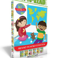 Ready-to-Read : Level 2 : Around the World Collection : Living in Brazil, China, India, Italy, Mexico, South Africa by Chloe Perkins (Box Set, 6 Paperbacks)