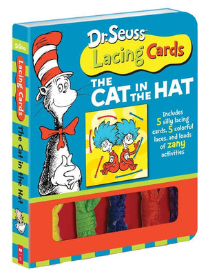 Dr. Seuss Lacing Cards : The Cat in the Hat