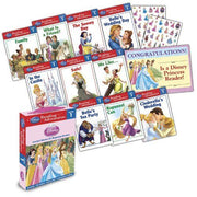 Disney Adventures in Reading : Level 1 : Disney Princesses Leveled Stores for Beginning Readers (Box Set, 10 Paperbacks)