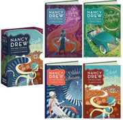Nancy Drew : Books 1-4 : The Mystery at Lilac Inn, The Bungalow Mystery, The Hidden Staircase, and The Secret of the Old Clock by Carolyn Keene