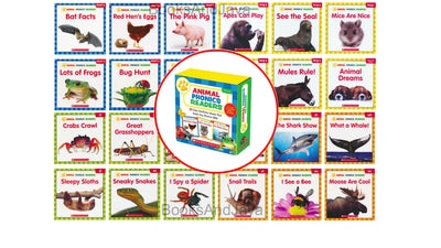 Animal Phonics Readers Parent Pack Scholastic Liza Charlesworth