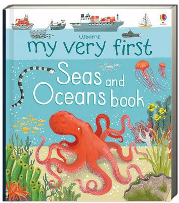 Usborne My Very First Seas and Oceans Books by Matthew Oldham