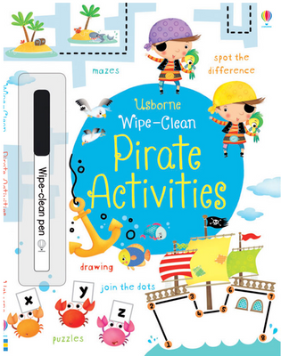Usborne Wipe Books : Wipe-Clean Pirate Activities by Kirsteen Robson