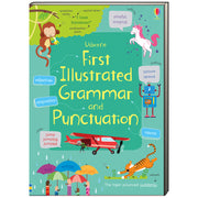 Usborne First Illustrated Grammar and Punctuation by Jane Bingham (Flexcover)