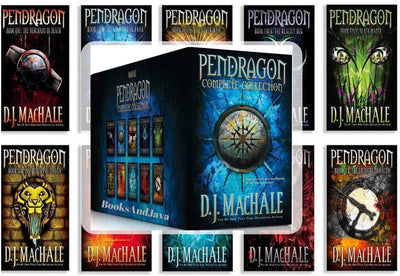 Pendragon Complete Collection, Books 1-10 The Merchant of Death, The Lost City of Fear...D.J. MacHale (Bargain Box Set)