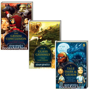 A Tale Dark & Grimm : Books 1-3 : A Tale Dark & Grimm, In A Glass Grimmly, The Grimm Conclusion  by Adam Gidwitz (3 Bargain Paperbacks)