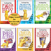The Case of the Lost Boy, The Case of the Mixed-Up Mutts, The Case of the Missing Family, The Case of the Fire Alarm, The Case of the Library Monster and The Case of the School Ghost by Dori Hillestad Butler