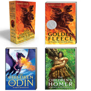 The Gods, Goddesses, and Mythical Beasts Collection : The Golden Fleece The Children of Odin and The Children's Homer by Padraic Colum (Box Set, 3 Paperbacks)