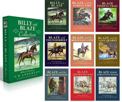 Billy and Blaze Complete Set : Billy and Blaze, Blaze and the Forest Fire, Blaze Finds the Trail, Blaze and Thunderbolt... by C. W. Anderson