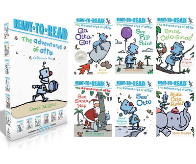 Ready-to-Read : Level Pre-Level 1 : The Adventures of Otto Collector's Set : See Otto, See Pip Point ... by David Milgrim (Box Set, 6 Paperbacks)