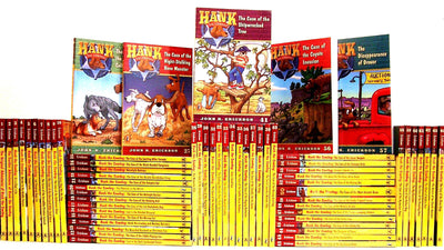Hank the Cowdog Complete Set : Books 1-72 by John R. Erickson (72 Paperback Book Set)