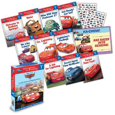 Adventures in Reading : Level 1 : Disney Pixar Cars Leveled Stores for Beginning Readers