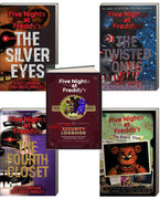 Five Nights At Freddy's The Silver Eyes, The Twisted Ones, The Fourth Closet Five Nights at Freddy's The Freddy Files (Paperback) Five Nights at Freddy's Survival Logbook (Hardcover) by Scott Cawthon & Kira Breed-Wrisley