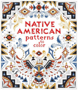 Usborne Art Patterns to Color :  Native American Patterns to Color by Emily Bone