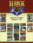 Hank the Cowdog : Books 31-40 The Case of the Vanishing Fishhook ... by John R. Erickson (10 Paperback Book Set)