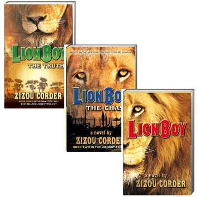 LionBoy Trilogy : Books 1-3 : Lionboy, The Chase, The Truth  by Zizou Corder (3 Bargain Paperbacks)