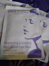 Load image into Gallery viewer, Moisturizing & Soothing Bio-Cellulose Face Mask