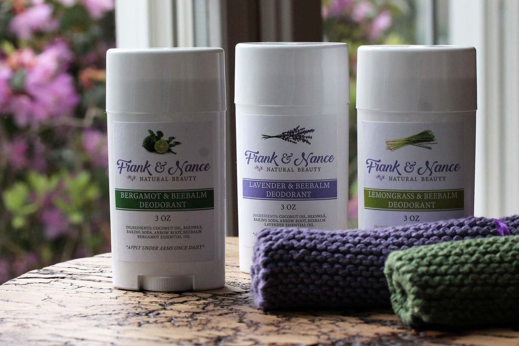 Lemongrass & Beebalm Natural Deodorant