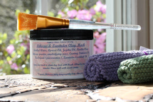 Hibiscus & Lavender Clay Mask
