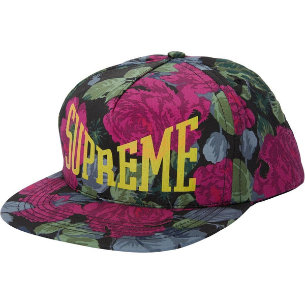 2c80c0ae025 SUPREME HEADWEAR OS SUPREME - FLORAL 5 PANEL (BLACK)