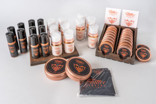 Tattoo Lovers Care - Wholesale Soap/Salve/Cream Aftercare Kits