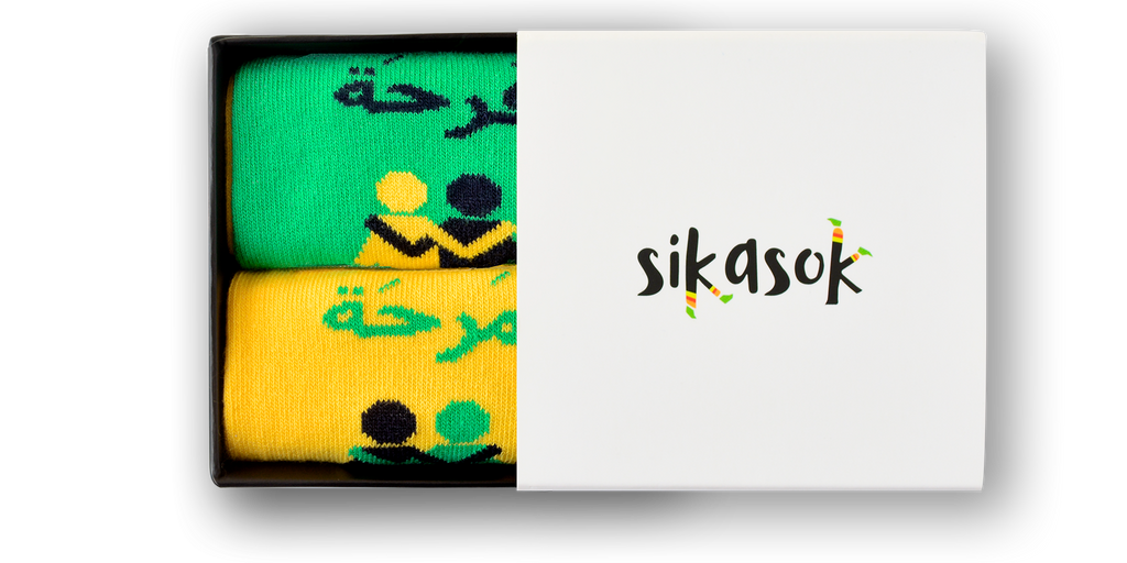 Farha Marha Socks - Best friends matching socks box - Long Socks - Sikasok