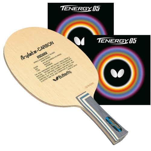 Butterfly Viscaria Proline w/Tenergy 05 - americantabletennis