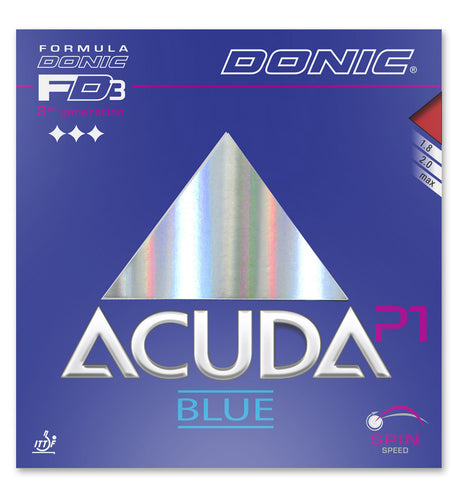 Donic Acuda Blue P1 - americantabletennis