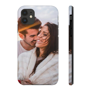 Custom Photo iPhone 11 Pro Max Case, Personalized Valentines Day Gift For Him Her Case Mate Tough Phone Print XS Max XR, X 7 Plus 8 6 5 - Starcove Design