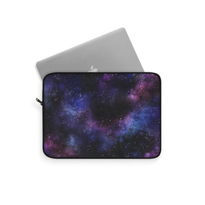 Galaxy Space Laptop Sleeve Case, Watercolor Stars Sky Nebula Purple MacBook Pro 13 Air 15 inch Bag Cover Tablet Accessories