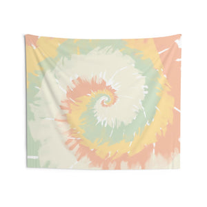 Tie Dye Tapestry Wall Hanging, Pastel Swirl Art Landscape Indoor Wall Tapestries Large Small Decor Home Dorm Room Gift - Starcove Design