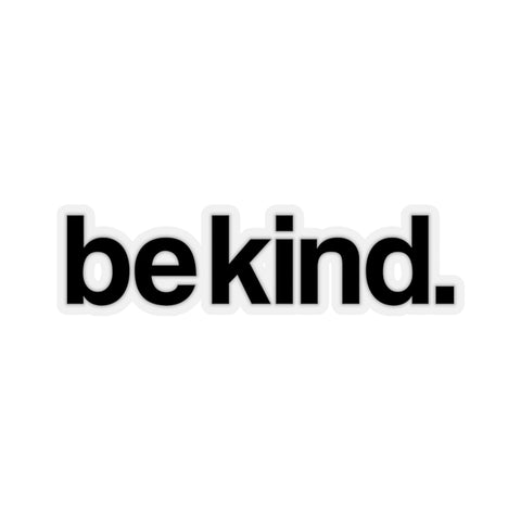 Be Kind Sticker, Be Kind Vinyl Decal, Bumper Sticker, Laptop Sticker Sign, Choose Kind, Bee Kind, Positive Kiss-Cut Stickers - Starcove Design