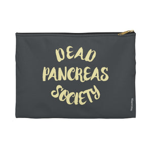 Dead Pancreas Society Bag, Diabetes Supply Bag, Fun Diabetic Supply Case, Cute Carrying Case Gift, Type 1 Diabetes Accessory Zipper Pouch Bag - Starcove Design