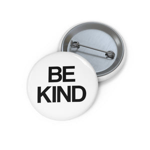 Be Kind Pin Button Badge, bee kind, choose kind, cool to be kind school backpack button Sign - Starcove Design