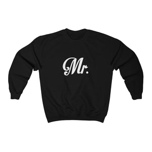 Couples sweatshirts mr and mrs matching Crewneck Sweatshirt - Starcove Design