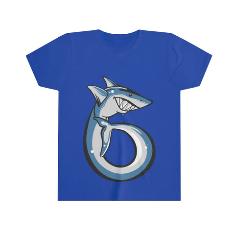 6th Birthday Shark Kids Shirt, Happy Party Gift for 6 Six Years Old Fish Loving Ocean Bday Youth Boys Girls T-Shirt Gift - Starcove Design