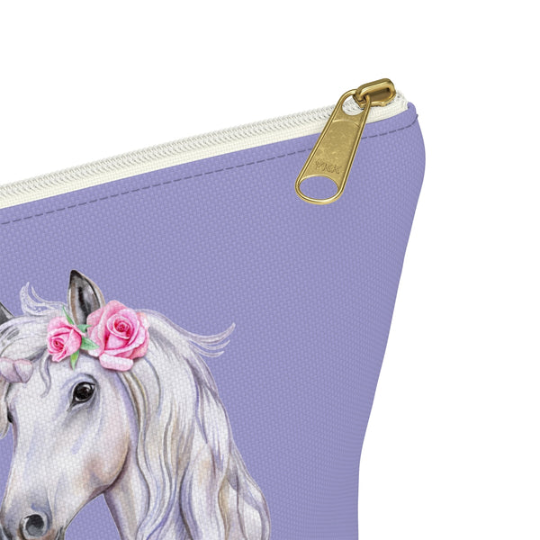 Diabetes Supply Case Bag Girls, I Run On Insulin Unicorn Cute Fun Kids Women Awareness Gift, Type 1 Diabetic Accessory Pouch T-bottom - Starcove Design