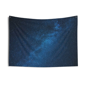 Space Tapestry, Galactic Galaxy Universe Tapestry, Outer Space Art View, Milky Way, Night Sky Indoor Room Wall Tapestry